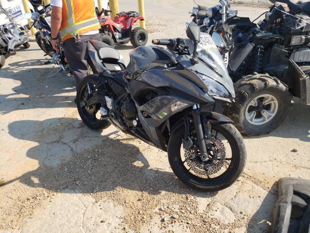 Vehiculos salvage en venta de Copart Bridgeton, MO: 2018 Kawasaki EX650 J