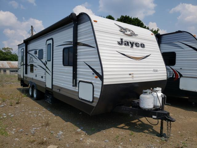 Salvage cars for sale from Copart Chambersburg, PA: 2018 Jayco JAY Flight