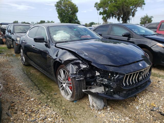 Maserati salvage cars for sale: 2021 Maserati Ghibli S