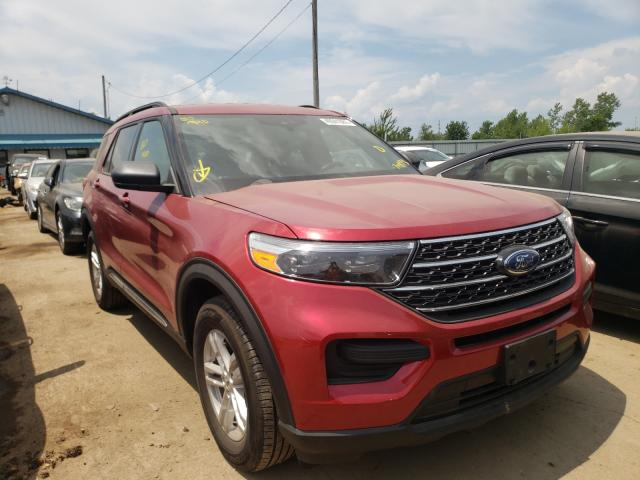 Salvage cars for sale from Copart Pekin, IL: 2020 Ford Explorer X