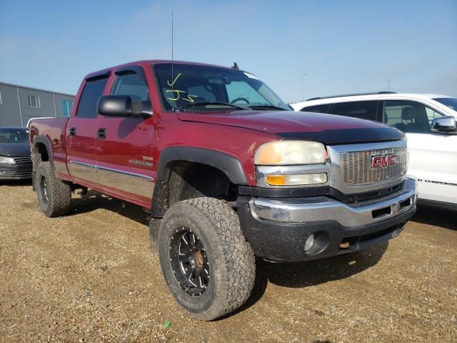 Salvage cars for sale from Copart Nisku, AB: 2006 GMC Sierra K25