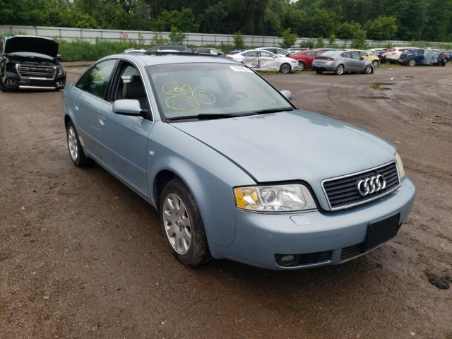 Salvage cars for sale at Davison, MI auction: 2002 Audi A6