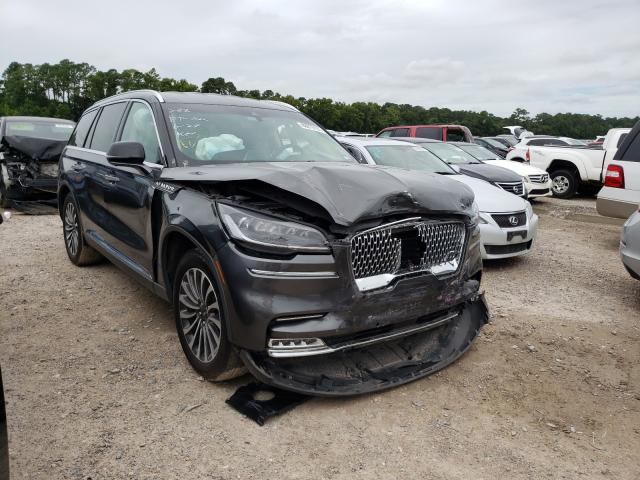 Salvage cars for sale from Copart Houston, TX: 2020 Lincoln Aviator RE