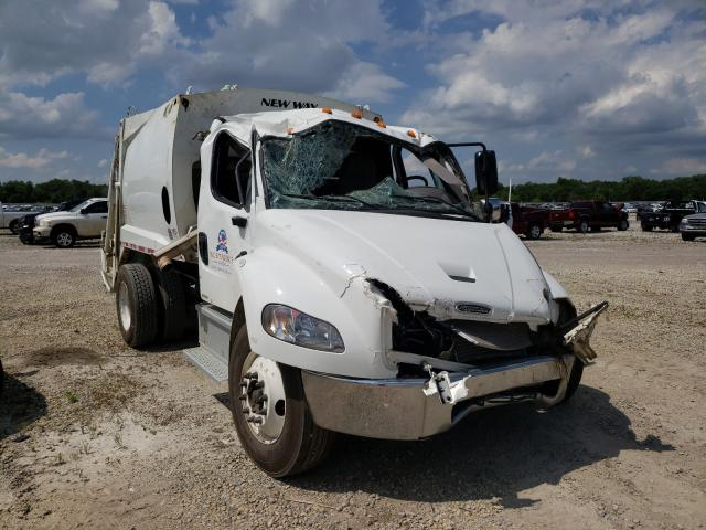 Salvage cars for sale from Copart Wichita, KS: 2021 Freightliner M2 106 MED
