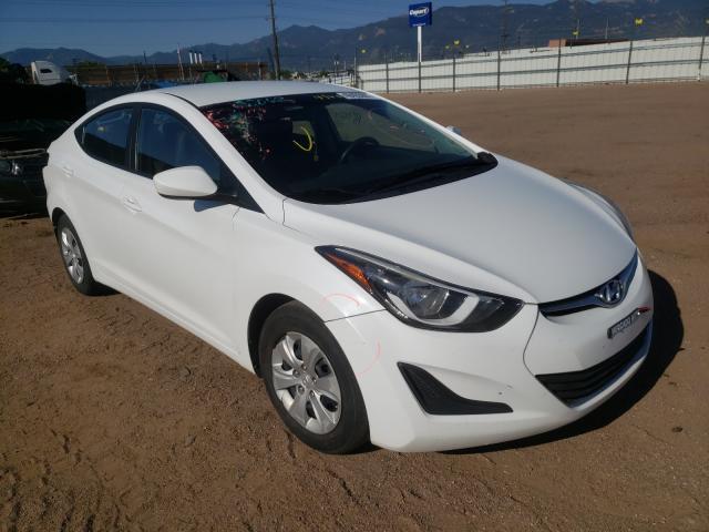 Salvage cars for sale from Copart Colorado Springs, CO: 2016 Hyundai Elantra SE