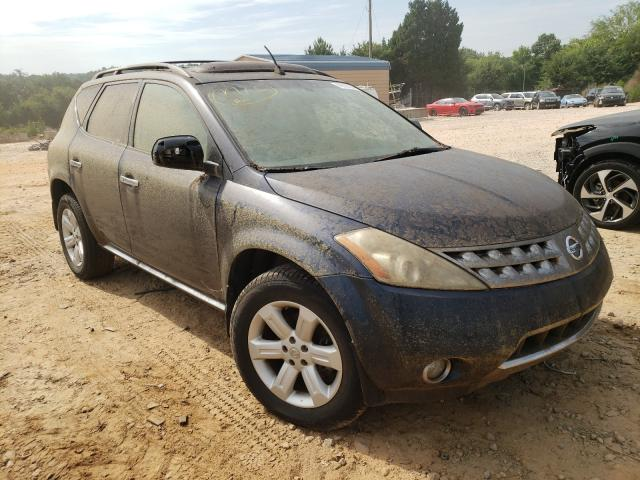 Salvage cars for sale from Copart China Grove, NC: 2006 Nissan Murano SL