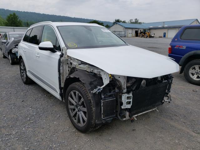 Salvage cars for sale from Copart Grantville, PA: 2018 Audi Q7 Prestige