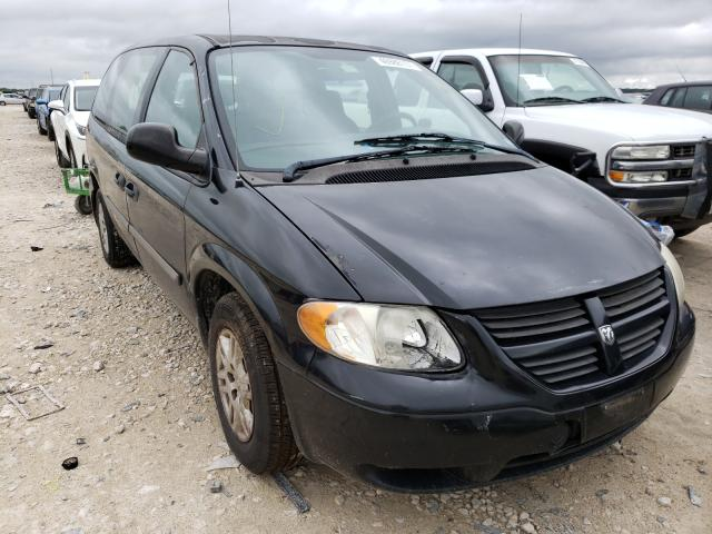 Salvage cars for sale from Copart New Braunfels, TX: 2005 Dodge Grand Caravan