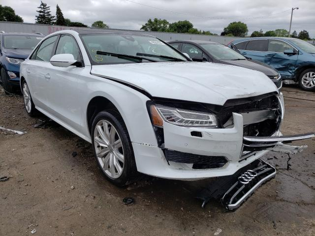 Audi Vehiculos salvage en venta: 2017 Audi A8 L Quattro