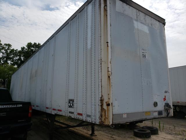 Great Dane salvage cars for sale: 1995 Great Dane DRY BOX
