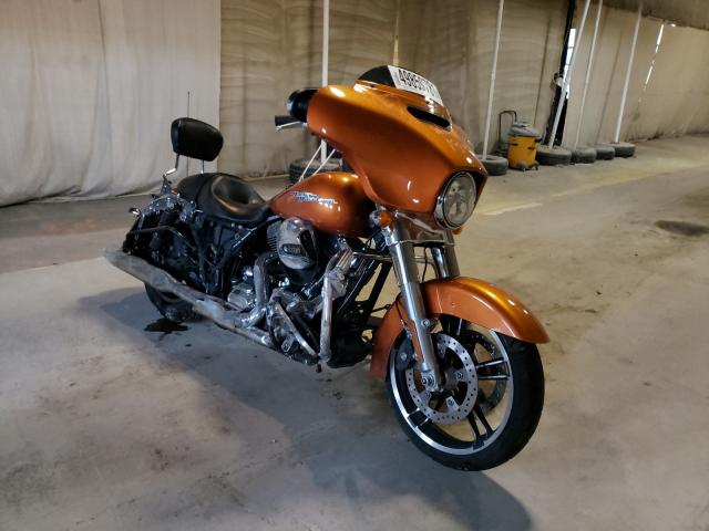 Salvage cars for sale from Copart Indianapolis, IN: 2016 Harley-Davidson Flhx Street