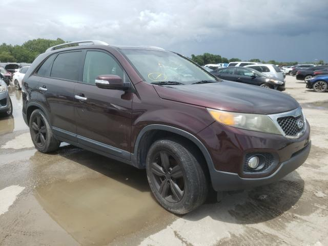 Salvage cars for sale from Copart Riverview, FL: 2012 KIA Sorento EX