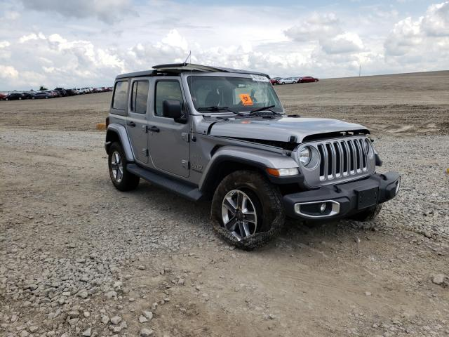 Salvage cars for sale from Copart Earlington, KY: 2019 Jeep Wrangler U