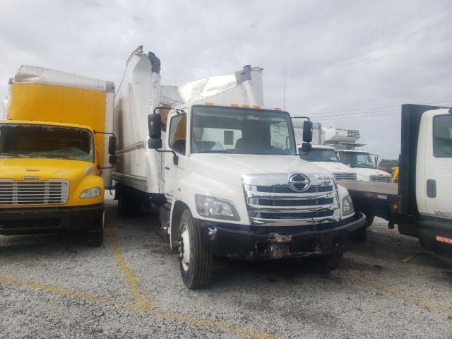 Salvage cars for sale from Copart Loganville, GA: 2019 Hino 258 268
