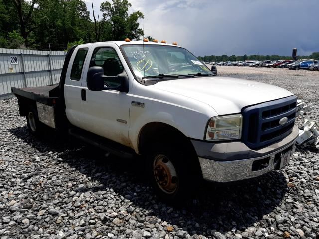 Salvage trucks for sale at Montgomery, AL auction: 2006 Ford F350 Super