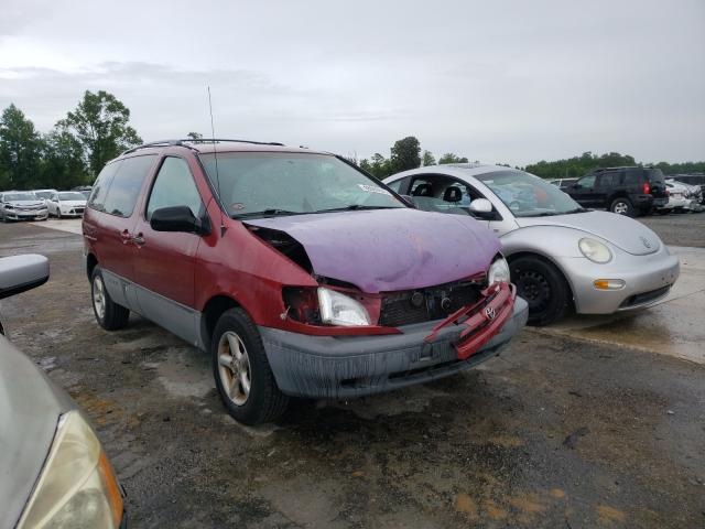 Toyota salvage cars for sale: 2000 Toyota Sienna LE