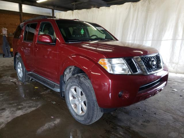 Salvage cars for sale from Copart Ebensburg, PA: 2008 Nissan Pathfinder