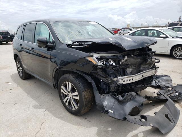 Vehiculos salvage en venta de Copart New Orleans, LA: 2016 Honda Pilot EXL
