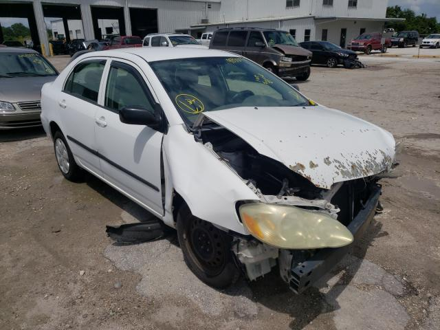 Salvage cars for sale from Copart Riverview, FL: 2006 Toyota Corolla
