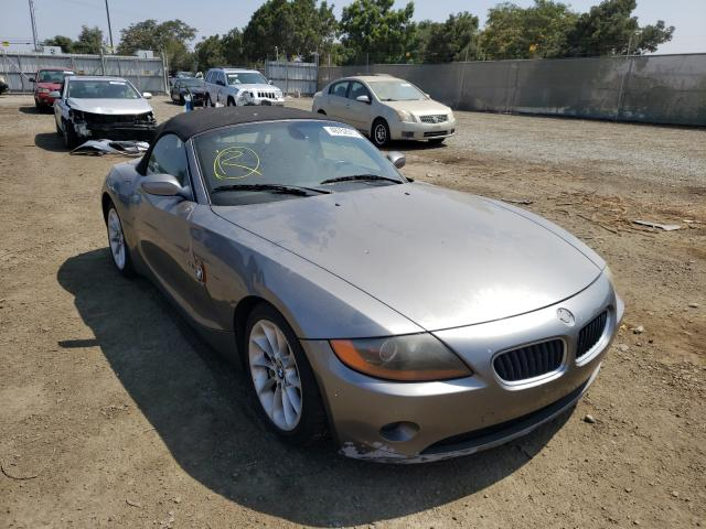 Salvage cars for sale from Copart San Diego, CA: 2004 BMW Z4 2.5