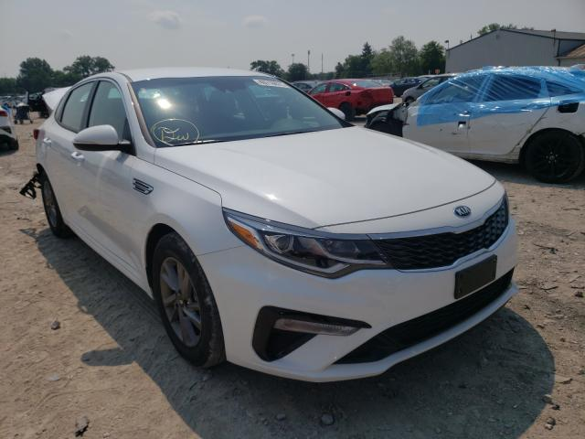 Salvage cars for sale from Copart Columbus, OH: 2020 KIA Optima LX