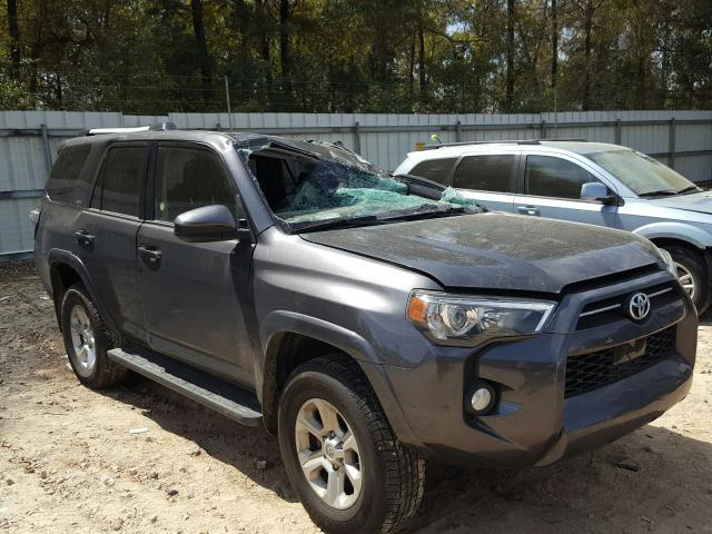 Salvage cars for sale at Midway, FL auction: 2020 Toyota 4runner SR
