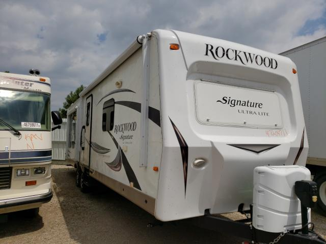 Salvage cars for sale from Copart Bismarck, ND: 2015 Wildwood Rockwood