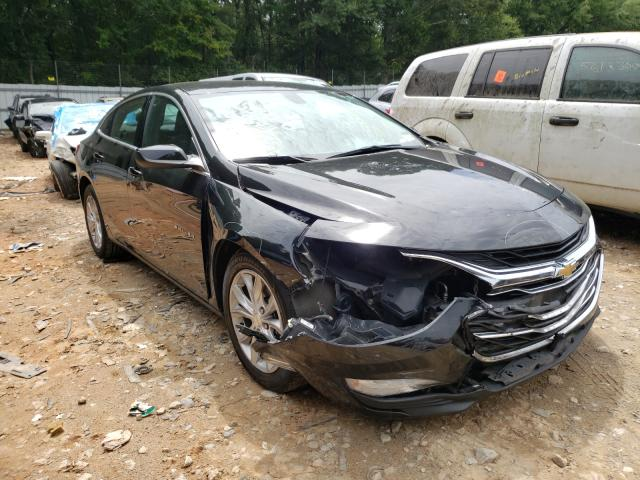 Salvage cars for sale from Copart Austell, GA: 2019 Chevrolet Malibu LT