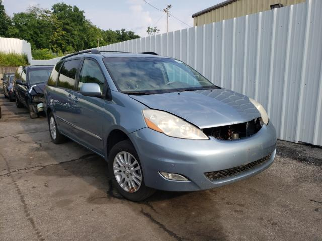 Salvage cars for sale from Copart Marlboro, NY: 2008 Toyota Sienna XLE
