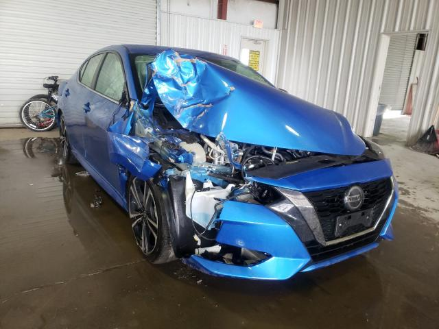 Salvage cars for sale from Copart Albany, NY: 2020 Nissan Sentra SR