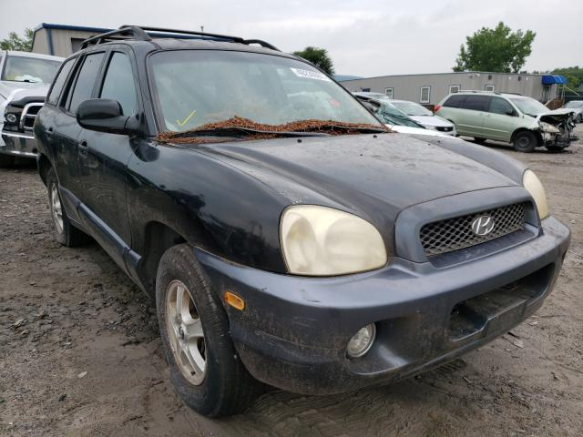 Salvage cars for sale from Copart Duryea, PA: 2003 Hyundai Santa FE