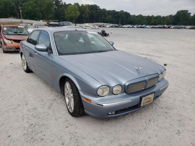 Salvage cars for sale from Copart Gastonia, NC: 2004 Jaguar XJR S