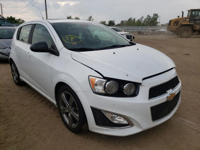 Salvage cars for sale from Copart Pekin, IL: 2013 Chevrolet Sonic RS