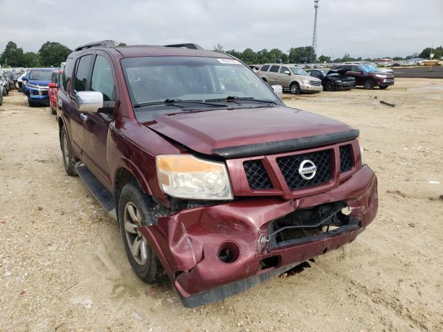 Salvage cars for sale from Copart Newton, AL: 2010 Nissan Armada SE
