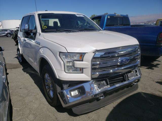 Salvage cars for sale from Copart Martinez, CA: 2015 Ford F150 Super