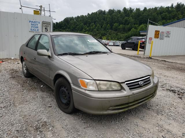 Salvage cars for sale from Copart Hurricane, WV: 2001 Toyota Camry CE