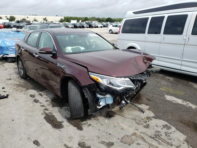 Salvage cars for sale from Copart Orlando, FL: 2020 KIA Optima LX
