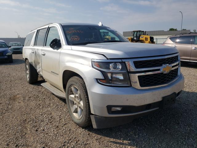 Vehiculos salvage en venta de Copart Bismarck, ND: 2018 Chevrolet Suburban K