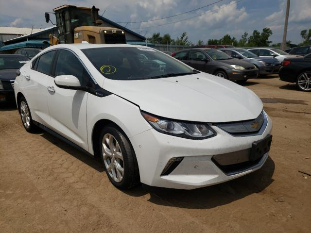 Salvage cars for sale from Copart Pekin, IL: 2018 Chevrolet Volt Premium