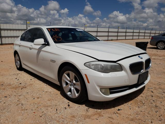 Salvage cars for sale from Copart Andrews, TX: 2011 BMW 528 I