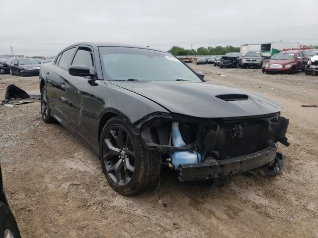 Salvage cars for sale from Copart Chicago Heights, IL: 2019 Dodge Charger GT
