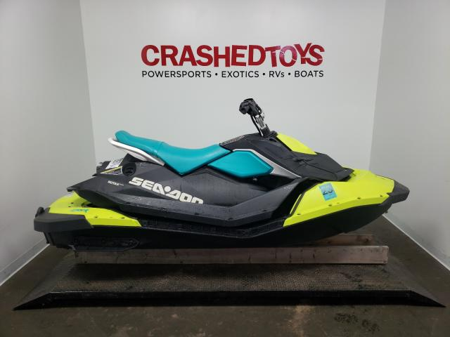 Salvage cars for sale from Copart Ham Lake, MN: 2018 Seadoo Spark