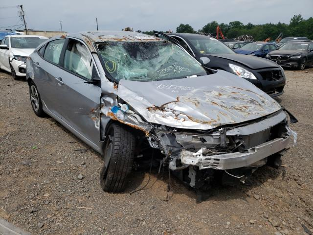 Salvage cars for sale from Copart Hillsborough, NJ: 2020 Honda Civic LX