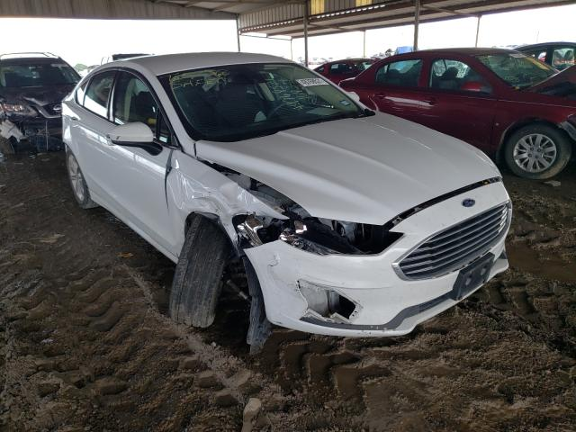 Salvage cars for sale from Copart Houston, TX: 2020 Ford Fusion SE