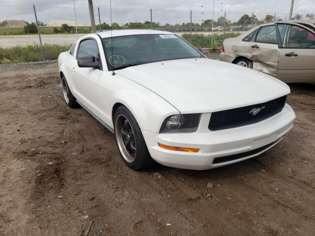 Salvage cars for sale from Copart West Palm Beach, FL: 2007 Ford Mustang