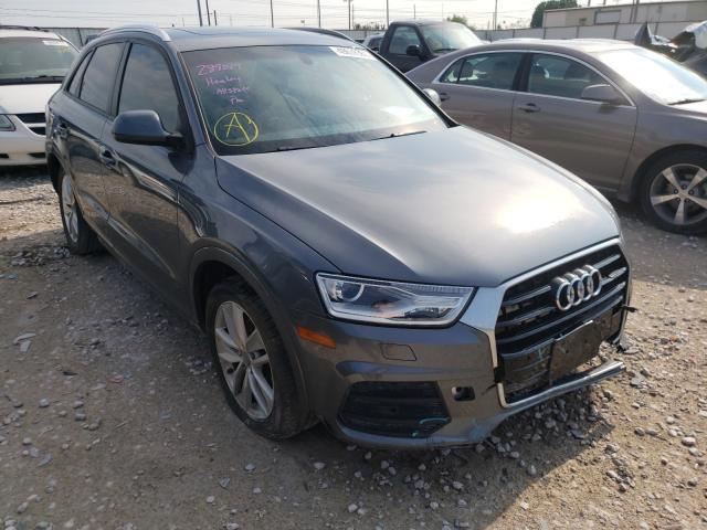 Salvage cars for sale from Copart Haslet, TX: 2017 Audi Q3 Premium