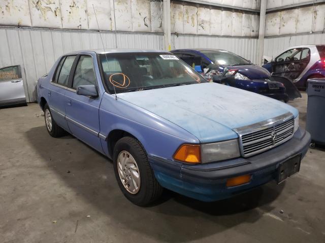 Dodge Spirit salvage cars for sale: 1992 Dodge Spirit