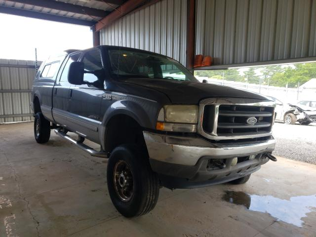 Salvage cars for sale from Copart Mocksville, NC: 2002 Ford F350 SRW S