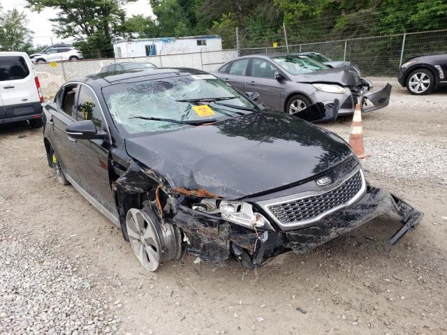 Salvage cars for sale from Copart Northfield, OH: 2014 KIA Optima Hybrid