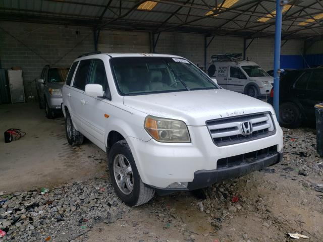 Salvage cars for sale from Copart Cartersville, GA: 2006 Honda Pilot